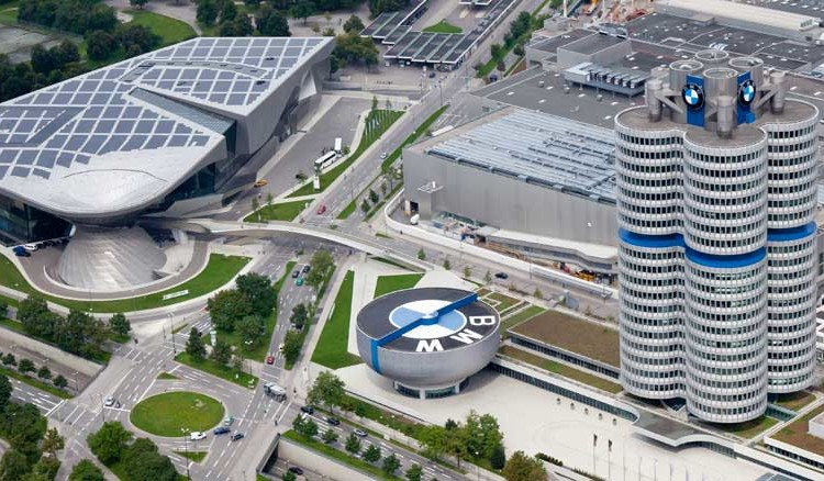 BMW headquarters 750x438