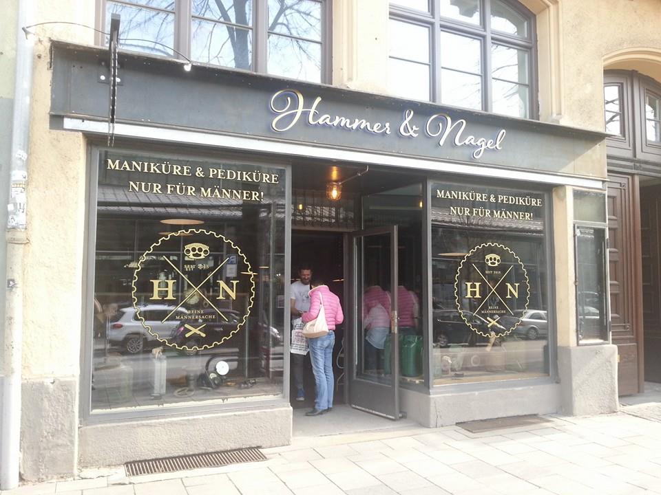 Hammer Und Nagel 1st Male Manicure Pedicure In Europe Opens In Munich