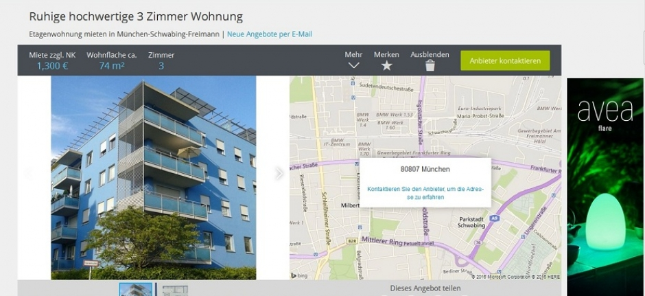 Moving to Munich: Abbreviations in Apartment Ads