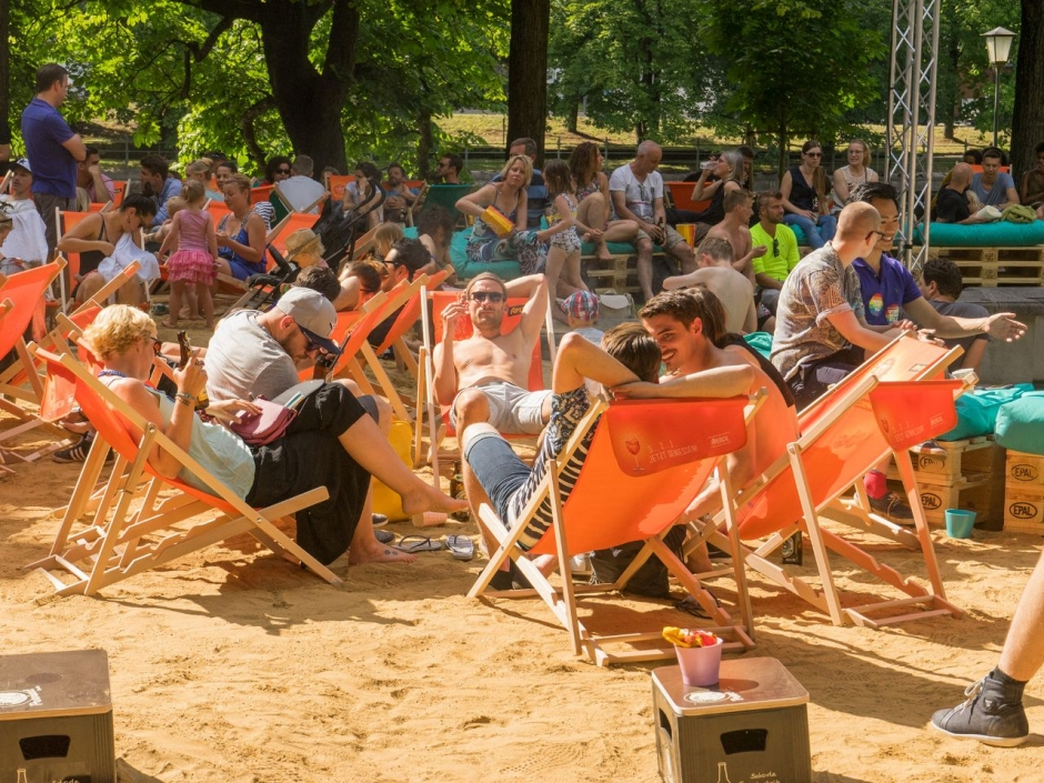 Munich's City Beach is Open