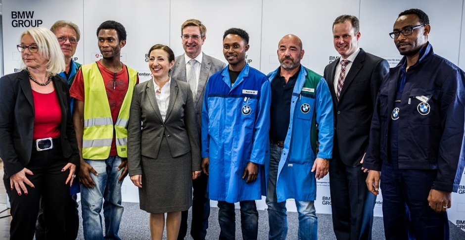 BMW Supports Social and Professional Integration of 500 Refugees