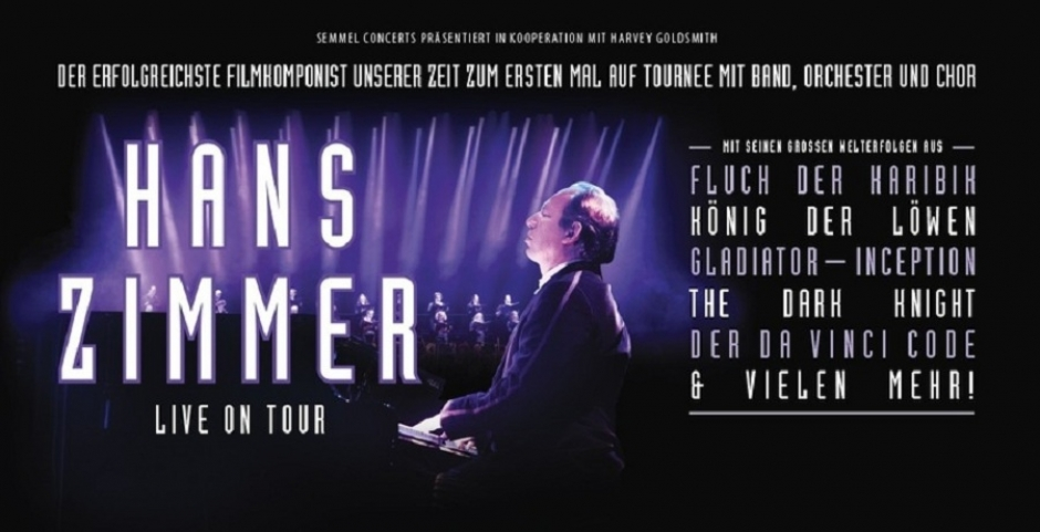Hans Zimmer Live with Band, Orchestra and Choir at Olympiahalle April 26