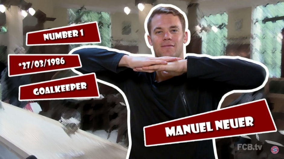 FC Bayern's Neuer is World's Best Goalkeeper