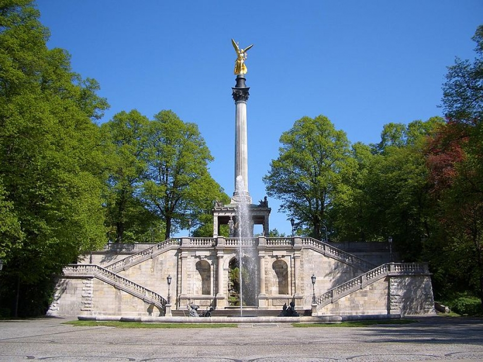 The Monuments of Munich: Friedensengel (Angel of Peace)