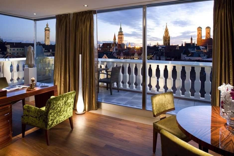 Suite with a view at the Mandarin Oriental