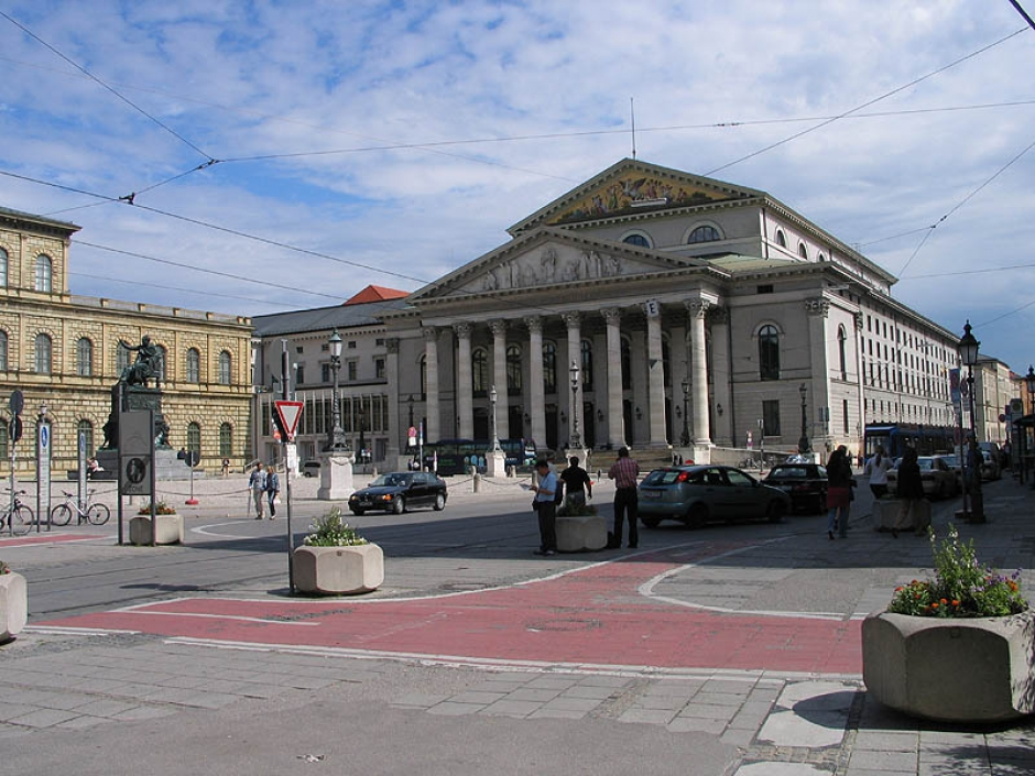 The Squares of Munich: Max Joseph Platz