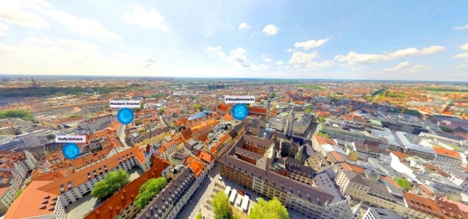 New Virtual Reality App for Munich Introduced