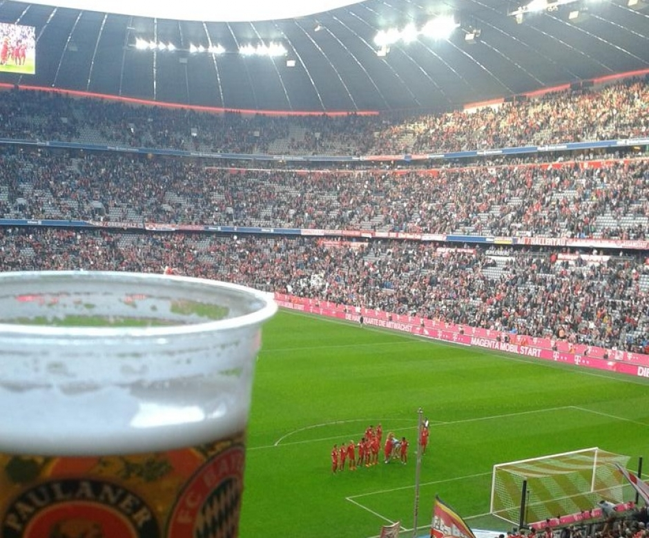 Freibier for all, today at the Allianz Arena