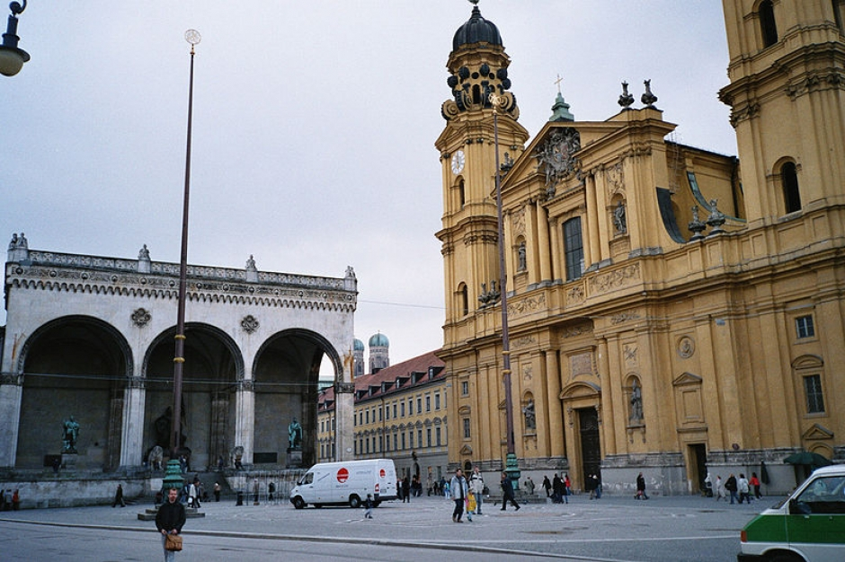 Odeonsplatz in Munich