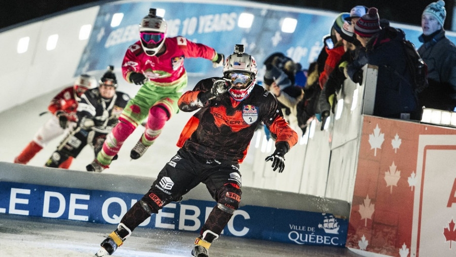 Red Bull Crashed Ice Race at Olympiapark, January 8-9