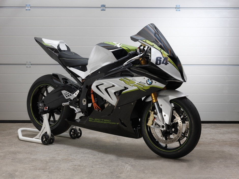 BMW Motorrad Unveil Electric Superbike eRR