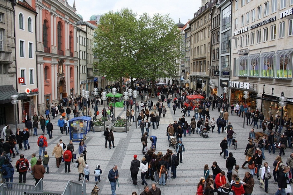 Shop until you drop at Munich's Neuhauser Street