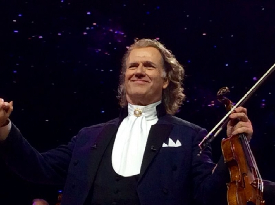 André Rieu at the Olympiahalle on January 17, 2016