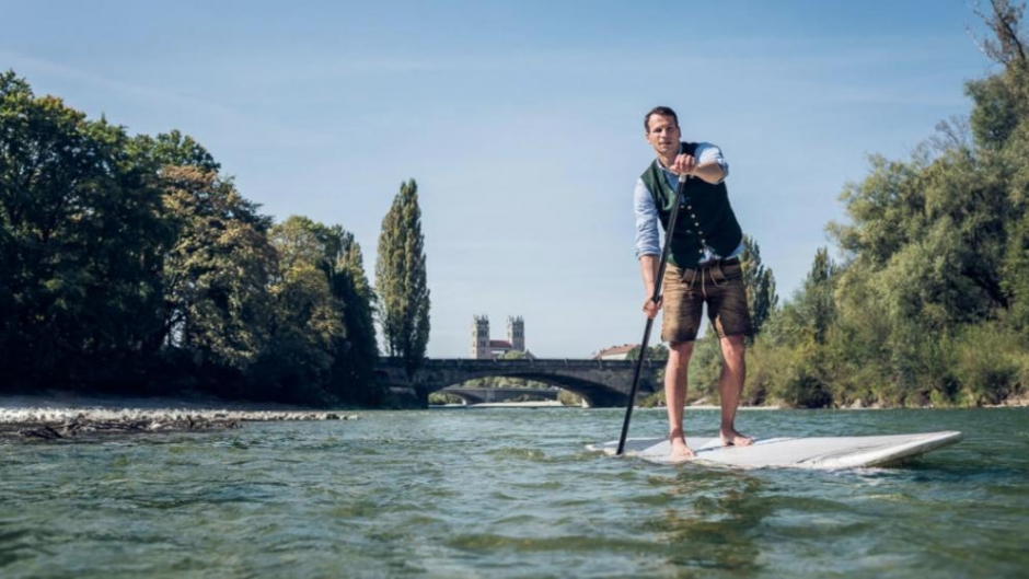Stand Up Paddling (SUP) 500 km from Munich to Vienna