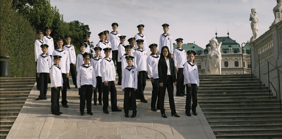 The Vienna Boys' Choir at the Prinzregent Theatre on December 2