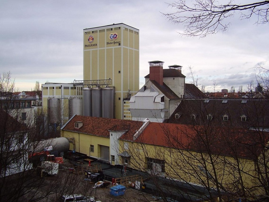 The Paulaner Brewery has moved to Langwied
