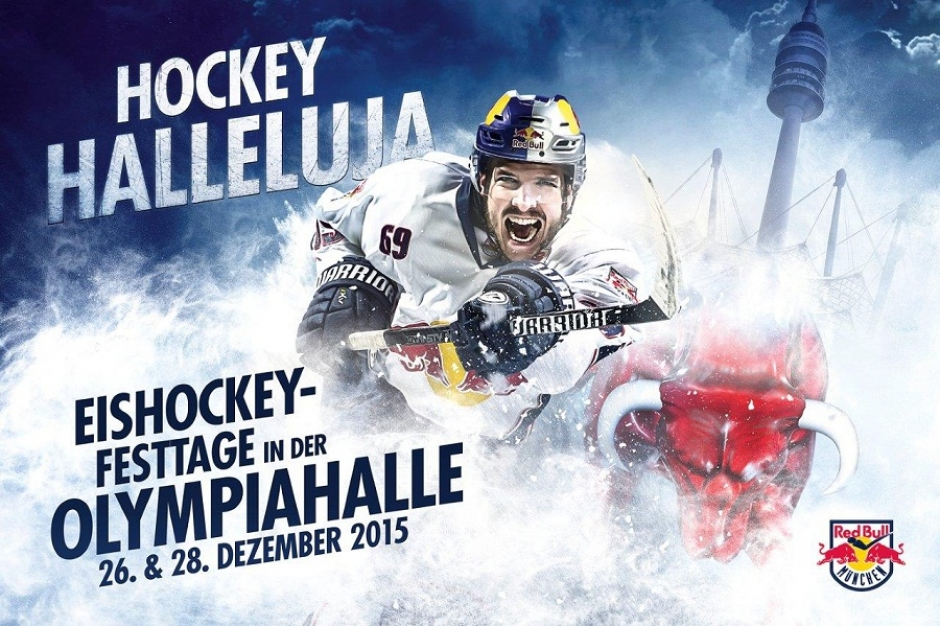 Red Bull Ice Hockey Hallelujah at the Olympiahalle Dec 26 and 28