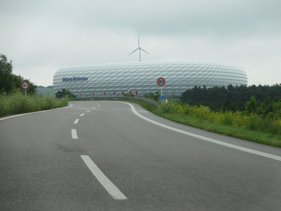 Visiting the Allianz Arena