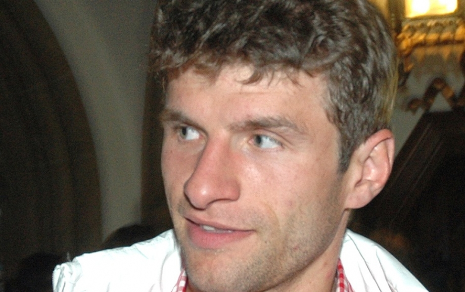 FC Bayern's Thomas Müller tops Messi and Ronaldo