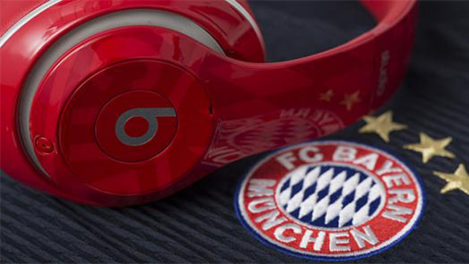 Beats By Dre Partners with FC Bayern Munich