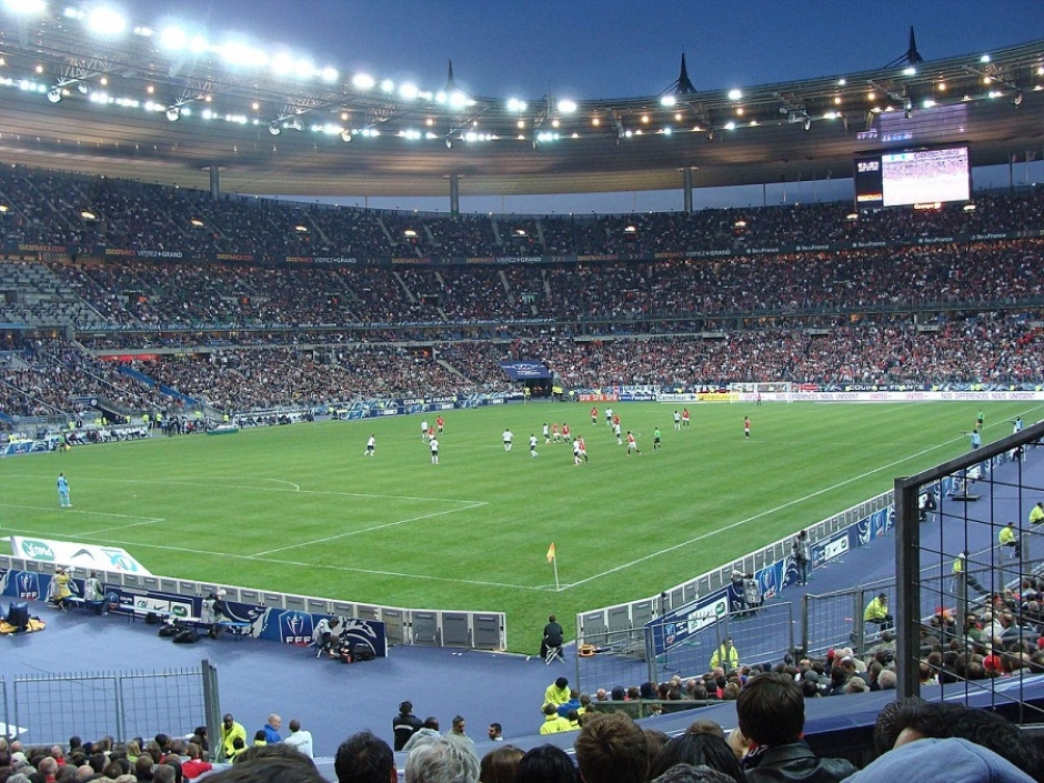 Paris: German National Football Team Spent the Night at Stadium