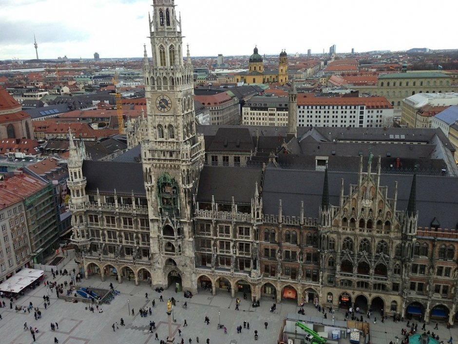 Pedestrian Area at the Marienplatz to be Broadened