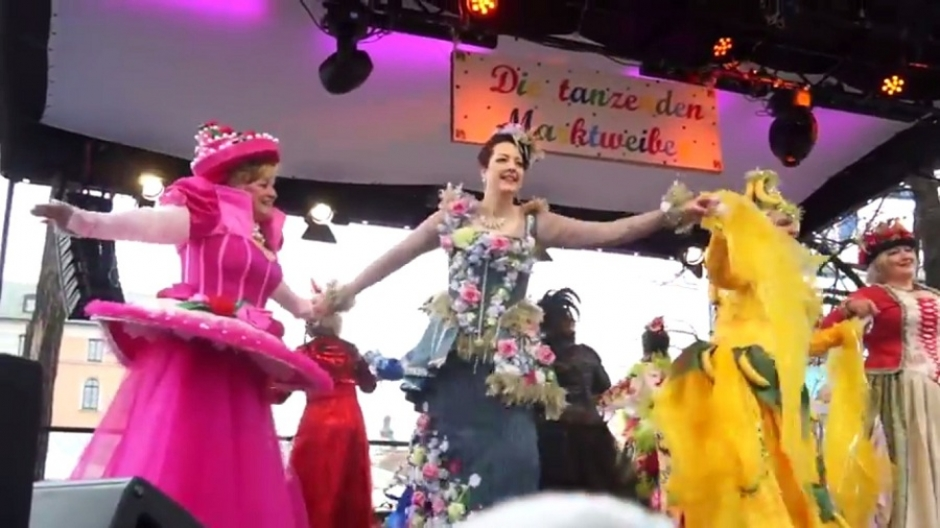 Video: Dance of the Market Women at the Viktualienmarkt