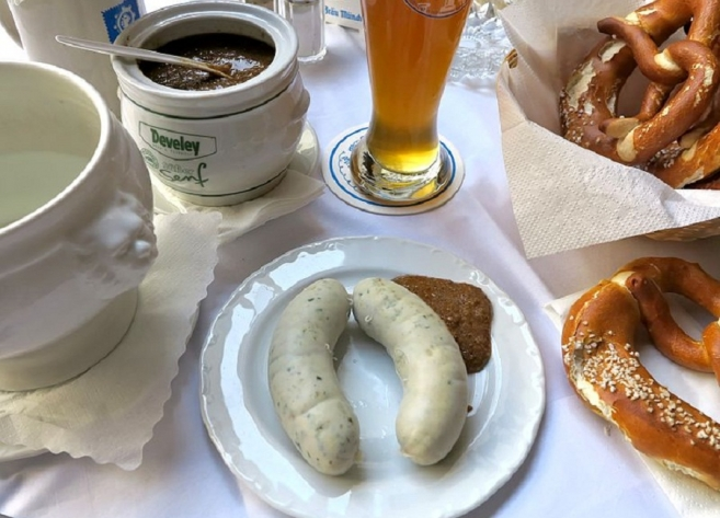 Food in Munich: Weisswurst
