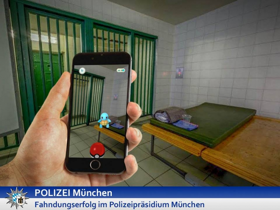 Munich Police Arrest Pokemon
