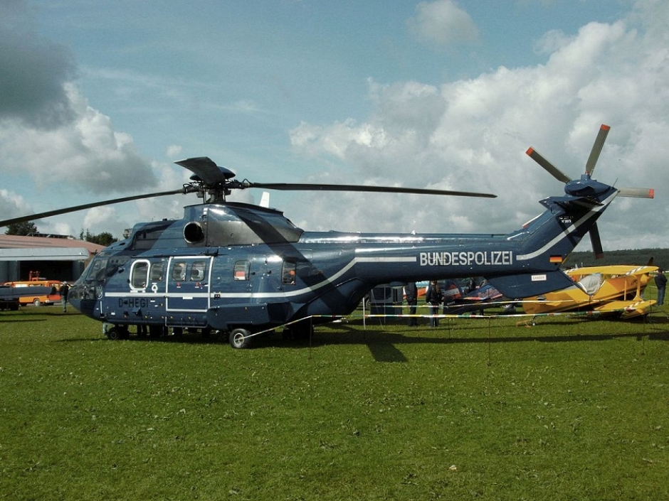 German Federal Police helicopter