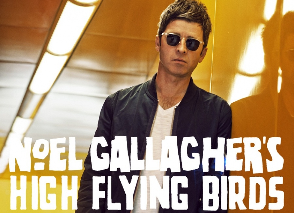 Noel Gallagher's High Flying Birds at the Zenith, April 14