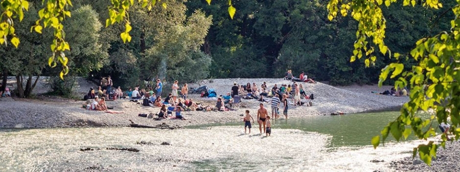 Enjoy the Summer at the Isar - Download the Natürlich Isar App