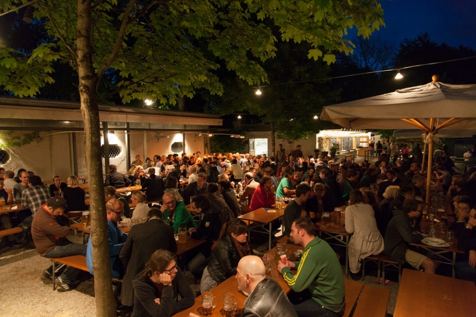 Munichs Beer Gardens: Muffatwerk - The Organic One