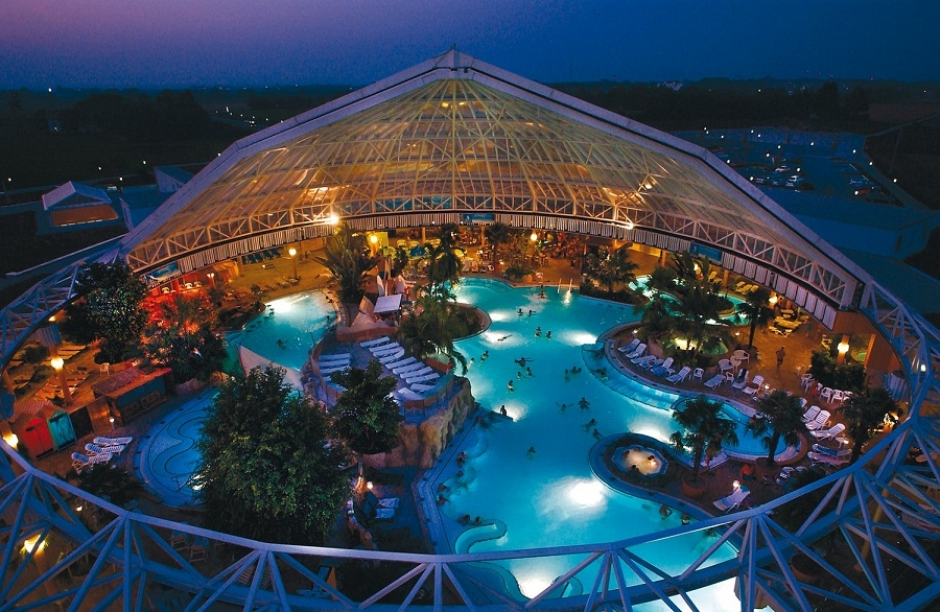 Waterpark, Sauna and Wellness at Therme Erding