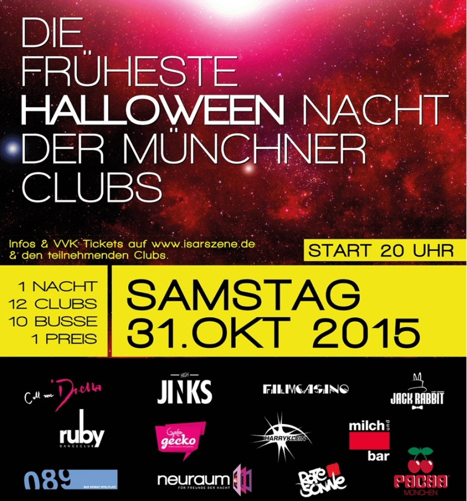 Halloween Club Hopping in Munich on October 31