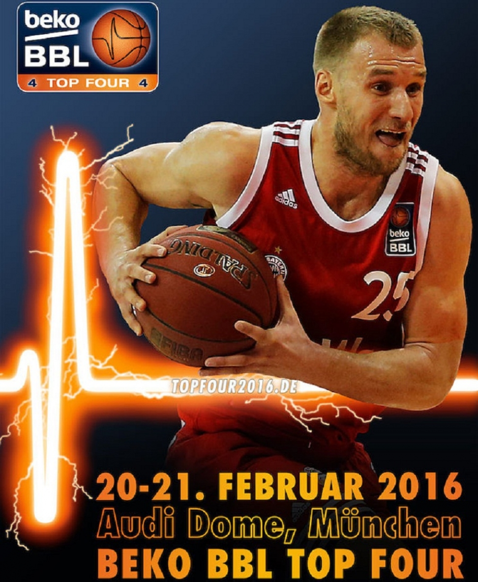 Baskets, Alba and Skyliners to Join Bayern at Top 4 Tournament