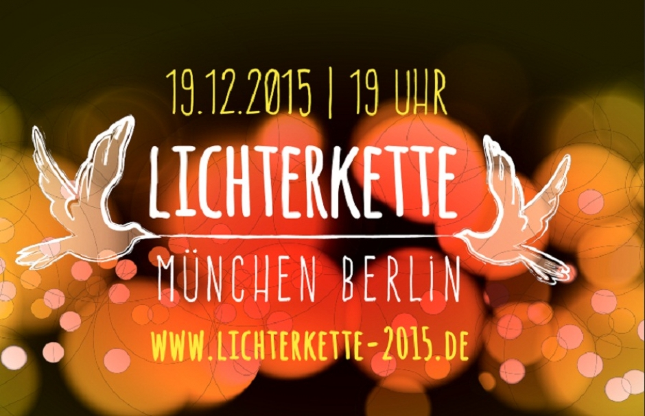Tomorrow Dec 19 - Human Light Chain from Munich to Berlin