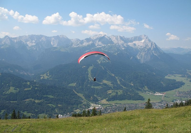 Tandem Paragliding from Munich