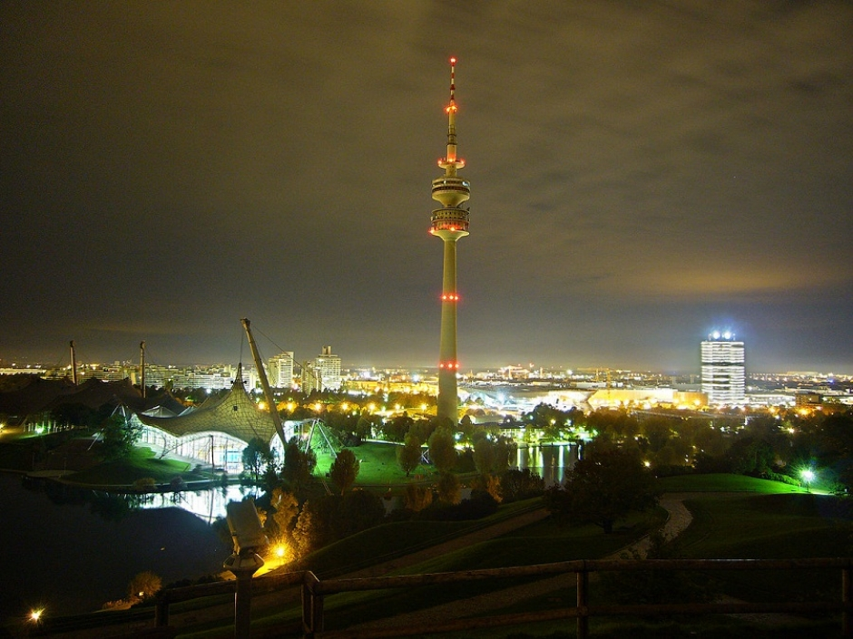 Munich Nights to Become More Colourful – Olympic Tower to be Illuminated