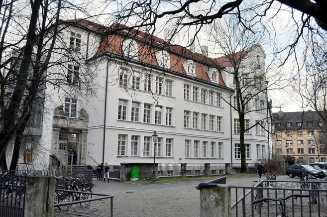 The St.-Anna-Gymnasium in Munich
