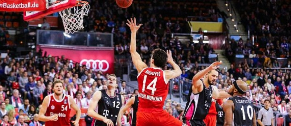 Alba Berlin Trump Bayern Basketball for German Cup