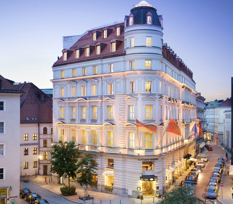 The Mandarin Oriental in Munich