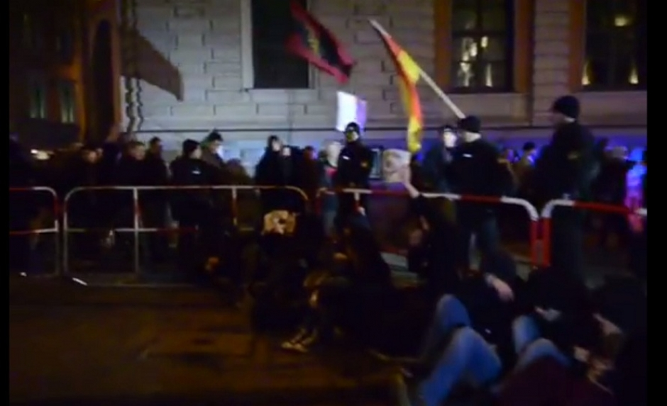 More Police than Protesters at Munich Pegida Demo