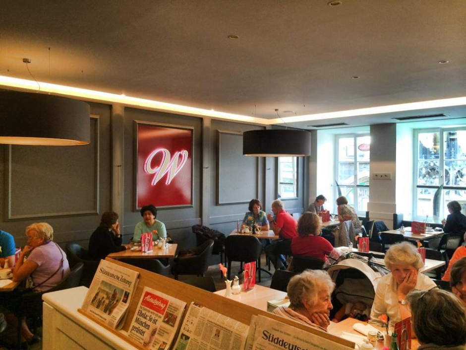 Cafes in Munich: Woerner's