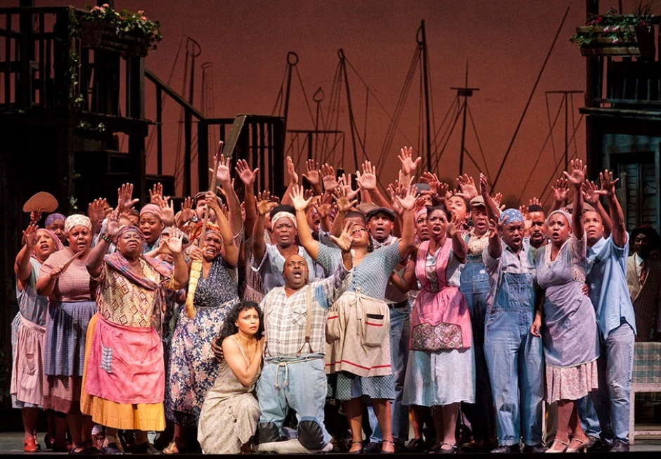 The Gershwins' Porgy and Bess at the Deutsches Theater, August 2-7