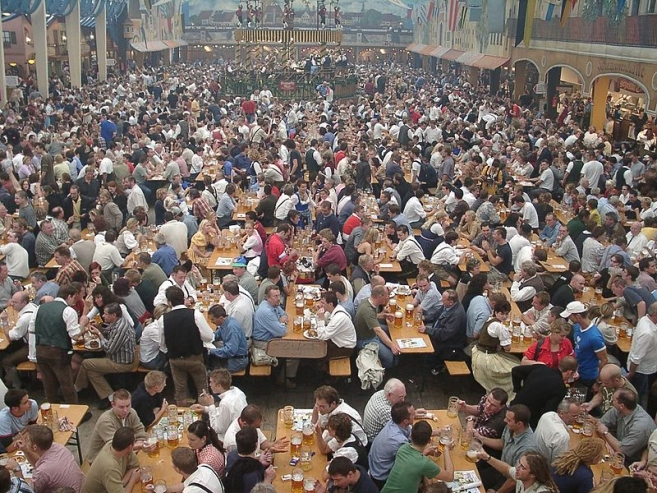 Fewer Visitors at Oktoberfest 2015