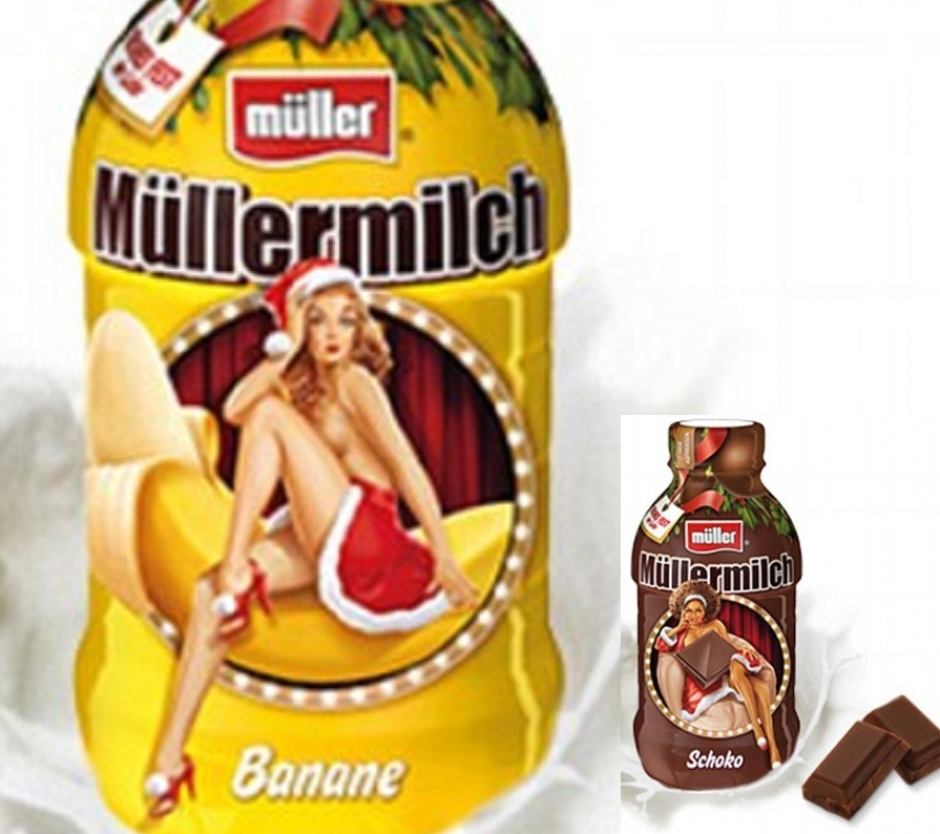 Müller Milch - Racism and/or Sexism on Milk Bottles?