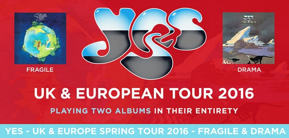 Concert: Yes Playing Fragile & Drama at the Circus Krone, May 25