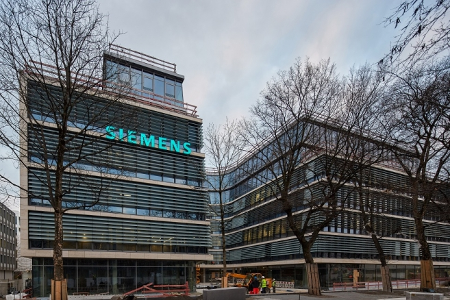 Siemens: Finishing Touches on New Corporate Headquarters