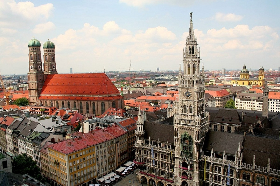 Panorama photo of Munich